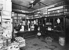 (1914) Grocery store at 8th and Winstanley Avenue in East St. Louis, IL