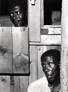 © Herbert List, JAMAICA. Kingston. Watching the Pocomania ritual. 1957