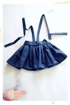 The High Waist Suspender Skirt | Downloadable Sewing Pattern – Fleur + Dot