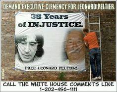 Call the White House and #Free Leonard Peltier, America's Nelson Mandela