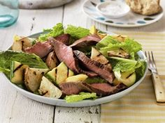Healthy Beef Recipe.....SIZZLING STEAK AND POTATO SALAD