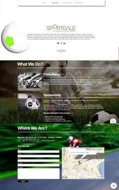 www.sportgale.com  #design #webdesign #web #creative #creativewebdesign #melisaerkol #sport #sportdesign