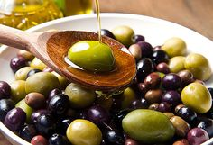 Buy olive oil by lsantilli on PhotoDune. Extra virgin healthy Olive oil with fresh olives on rustic wooden background Best Mediterranean Food, Greek Dinners, Coconut Benefits, Low Calorie Snacks, Nutrition, Italian Recipes, Healthy Recipes, Healthy Food, Cooking Recipes