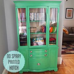 How to paint wood furniture without spray paint