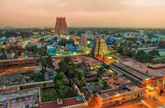 Taken with a quadcopter during our family trip when we explored amazing temples around southern India.