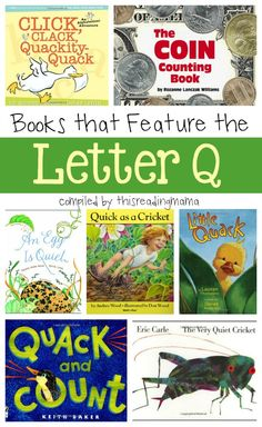 Letter Q Book List - Books that Feature the Letter Q
