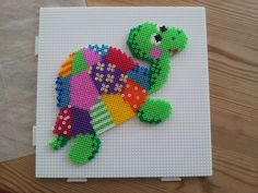Turtle hama beads by Myosotis