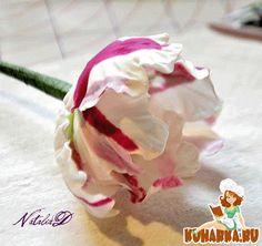 Tulip gum paste http://www.kuharka.ru/recipes/decoration/tree/10639.html