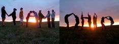 After investigating the endangered Pallas' cat on their Earth Expeditions course in Mongolia, Miami graduate students enjoy the sunset -- giving a huge shout out to MIAMI OHIO!  Photos by Earth Expeditions course instructor Craig Beals.