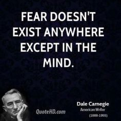 As soon as you realize that #FEAR is imagined and it is only your brain tricking you, #freedom awaits you. The fear never matches the experience and you are capable of overcoming anything. #commitment #webelieveinyou #smashfears #seereality #advice