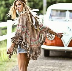 ╰☆╮Boho chic bohemian boho style hippy hippie chic bohème vibe gypsy fashion indie folk the . Hippie Style, Gypsy Style, Boho Gypsy, Hippie Boho, 70s Hippie, Boho Outfits, Fashion Outfits, Fashion Clothes, Boho Chic Outfits Summer