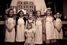 Party like it's 1904–An American Girl (Samantha) Mystery Birthday Party - My Insanity Blog