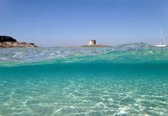 That's what swimming in Stintino looks like! - Ecco com'è nuotare a Stintino ;^)