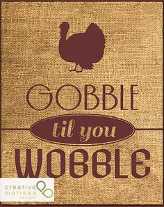 turkey day burlap decorative sign for thanksgiving