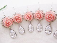 Set of 5 - for bridesmaids