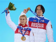 sochi -2014, Tatyana Volosozhar & Maxim Trankov,Russia,gold