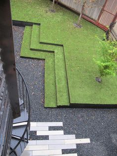 Landscape Architecture by Working Nature. Reminds us a bit of Minecraft. What do you think?  Apelpi.com