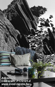 Climbers on the way up a hill in North Devon, England. Inspiration to dare take on life's challenges! ☞ #wall #decor #wallpaper #design #tapeta #foto #poster