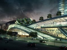One more impressive design from Aedas, the Express Rail Link West Kowloon…
