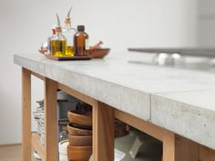 Concrete countertops <3