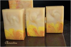 """Celementine"" - Handmade cold prozess soap"