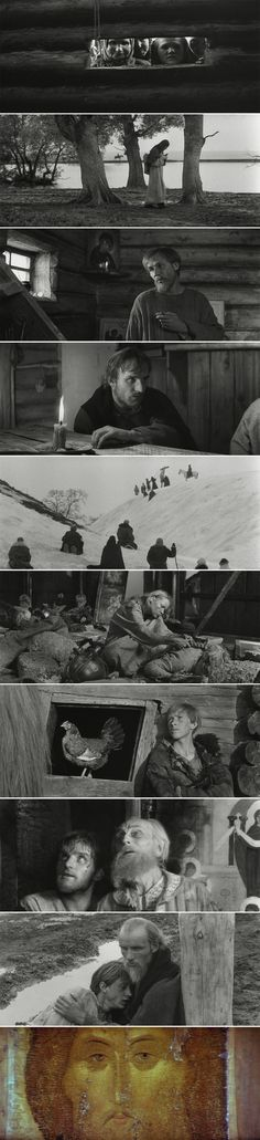 Andrei Rublev (1966) | Directed by Andrei Tarkovsky | Cinematography by Vadim Yusov