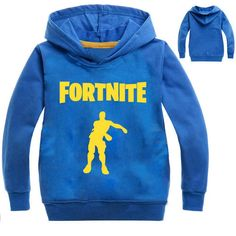 4defffaa5e47 Gitoolo Fortnite Hoodie for Kids Boys Girls Cheap 3D Print Blue   Details  can be discovered