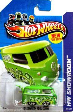 Volkswagen Kool Kombi Hot Wheels 2013 Showroom #169/250 Green