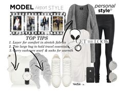 """""""Airport Style - Model Me ;)"""" by hattie4palmerstone ❤ liked on Polyvore featuring Rick Owens, By Malene Birger, Raquel Allegra, Toast, Marc by Marc Jacobs, Proenza Schouler, Incase, Molami, Chan Luu and Christian Dior"""