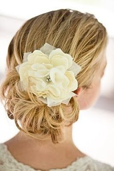 Possible hair flower.