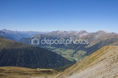 Mountain View From Jakobshorn In Davos Graubuenden Switzerland Davos, Mountain View, Photo Library, My Images, Switzerland, Photo S, Hiking, Stock Photos, Vacation