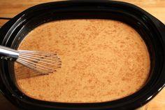 Slow Cooker Pumpkin Spice Lattes -- A Big Batch