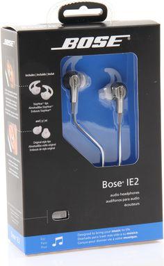 Bose earphones packaging
