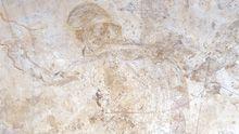 Fresco from tomb I: god Hermes