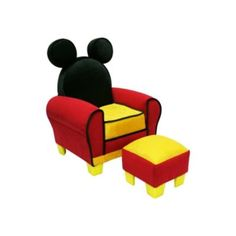 Decor and Furniture for a Mickey Mouse Bedroom