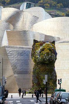 Puppy. Museo Guggenheim, Bilbao, Bizkaia, Euskadi