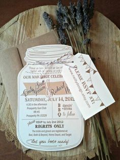 Country Wedding - Invitation