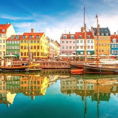 Nyhavn district is one of the most famous landmark in #Copenhagen , #denmark #scandinavia #nyhavn #colorful #street #travel #canal #scenic #view #summer #scandinavian #town #european #landmark #ship #old #people #building #tourist #historic #district #sightseeing #famous #architecture #city #blue #panorama #danish #sky #boat