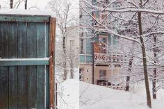 Villa Linnunlaulu, in Helsinki Finland.