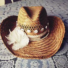 En klaar is mijn Ibiza hoed.