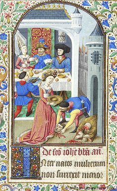 Book of Hours, MS M.282 fol. 124v - Images from Medieval and Renaissance Manuscripts - The Morgan Library & Museum