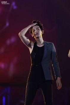 I'm excuse me Chanyeol, that's rUDE Kpop Exo, Park Chanyeol Exo, Baekhyun, Exo Concert, Exo Members, Chanbaek, Korean Singer, Boy Groups, Parks