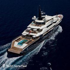 ALFA NERO Yacht Charter Prix - Charte de luxe Oceanco Yacht