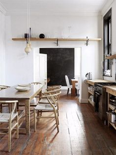 rustic kitchen / rustikale küchen mit viel holz