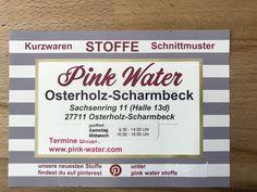 Pink Water Stoffe Bremen Pinkwater Pe Pinterest