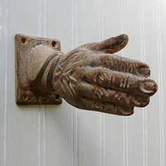 Elegant Give Your Guests A Hand With This Unique Wall Hook. Make A Bold Statement  With
