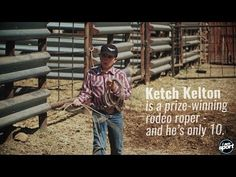 For this rodeo kid, roping is a way of life - YouTube