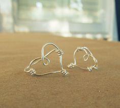 WobiSobi: Sweetheart, Wire Rings. DIY