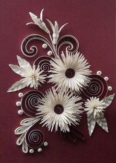 Beautiful!           paper quilling patterns free | images of creative paper quilling patterns by neli life chilli ...