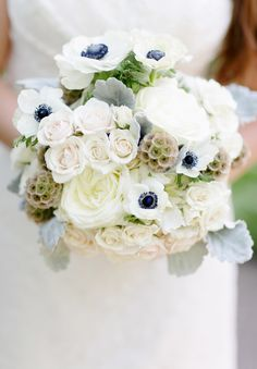 my bouquet [at my own wedding!! - photography by elisabeth millay]